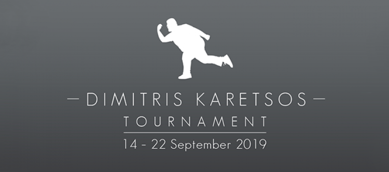 Dimitris Karetsos Tournament 2019
