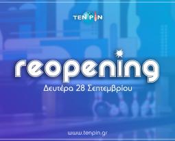 Ten Pin – Reopening!